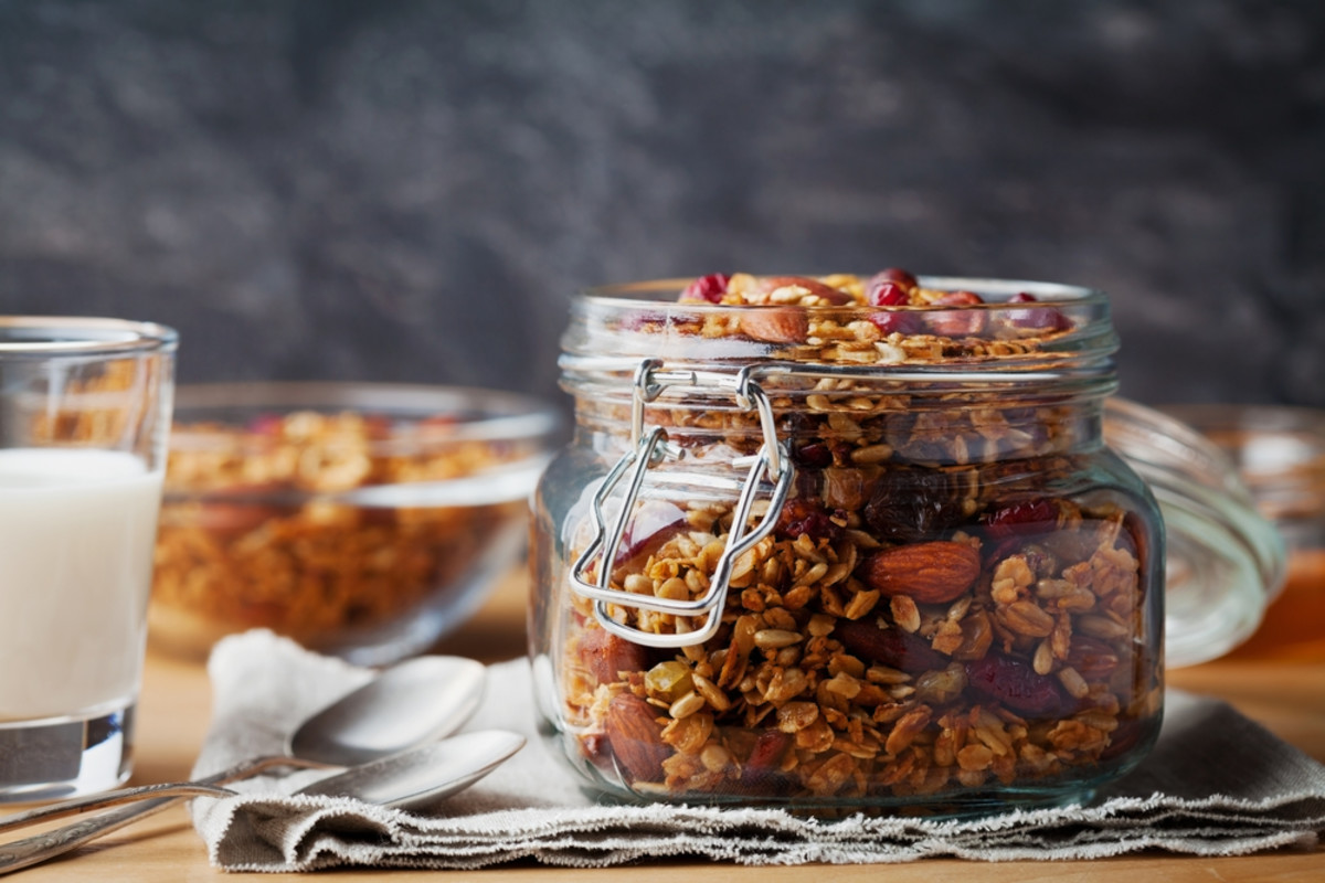 iron-rich granola