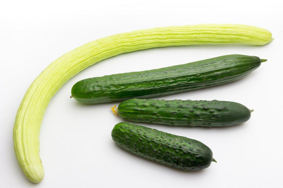 heirloom cucumbers