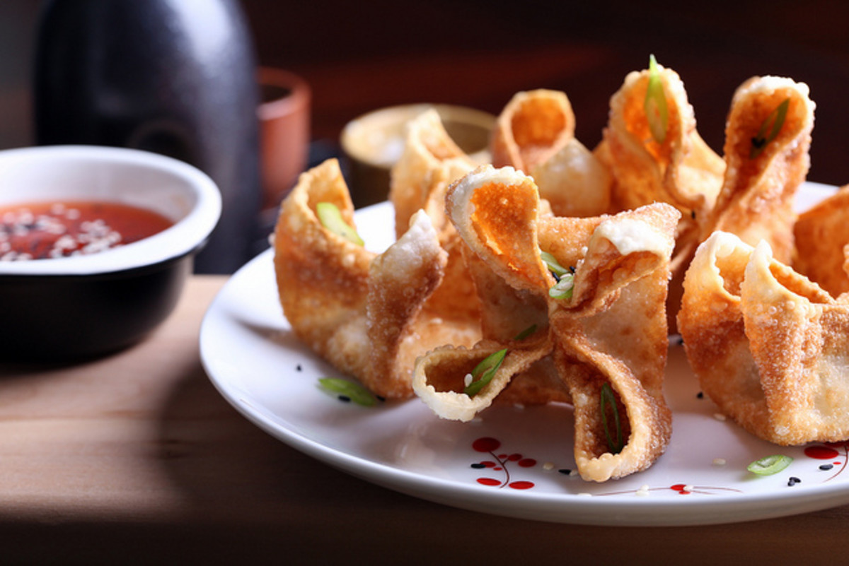 jackfruit crab rangoon