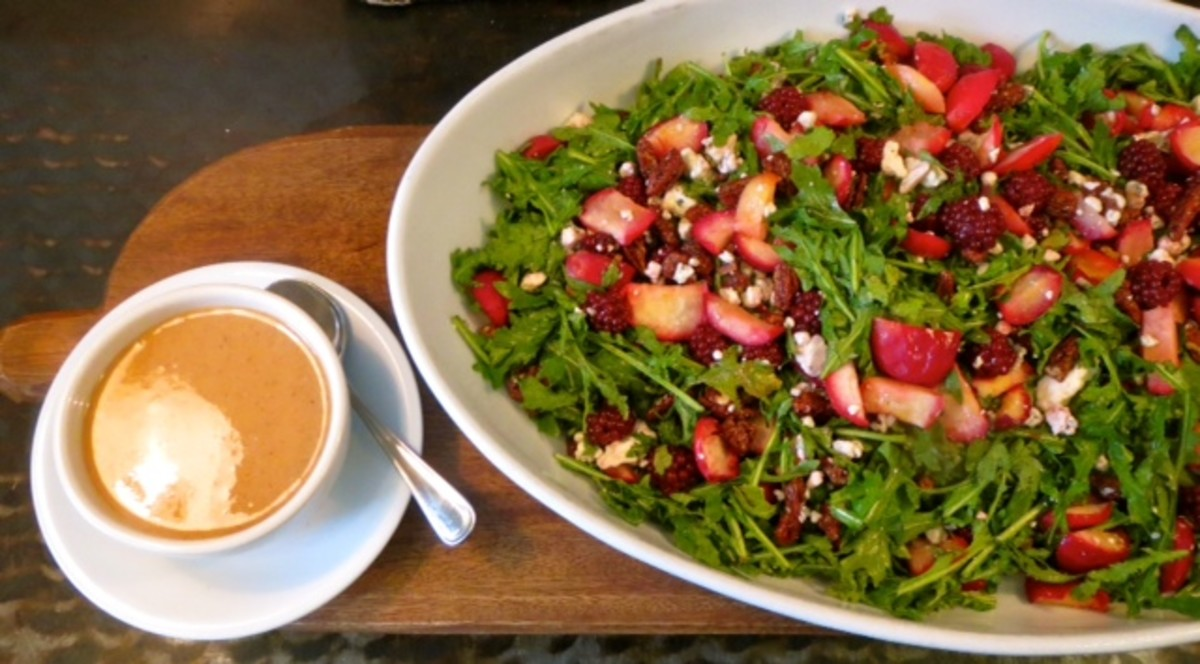Emerald Salad Recipe with Pickled Berries, Caramelized Apples, Irish ...