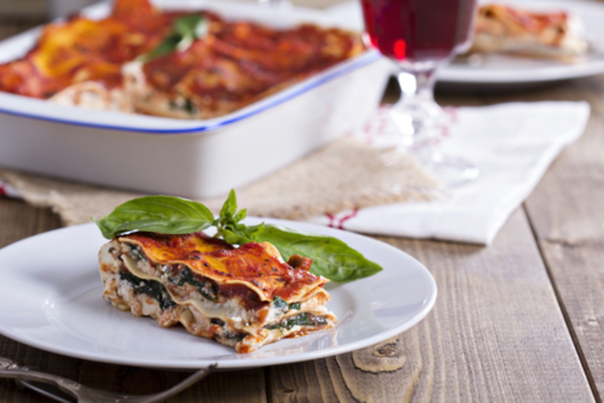 Spring Vegetable Lasagna Recipe