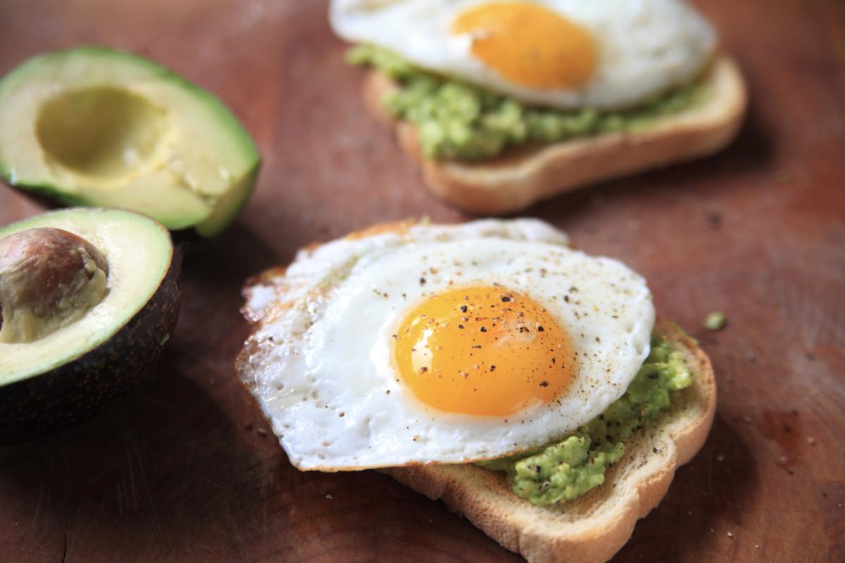 avocado toast photo