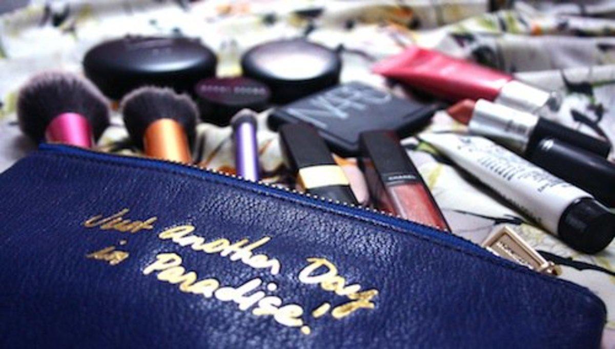 Makeup bag.