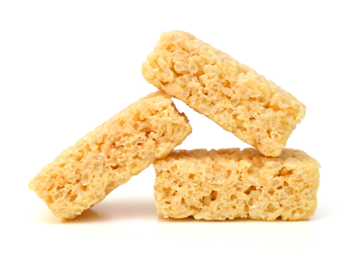 Autumn Dessert Snack: Pumpkin Rice Krispie Treat Recipe