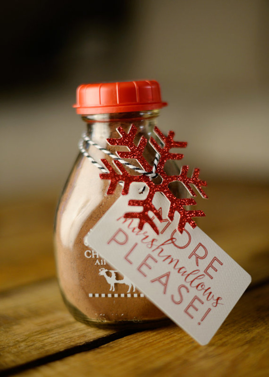 Make one of those homade holiday food gifts.
