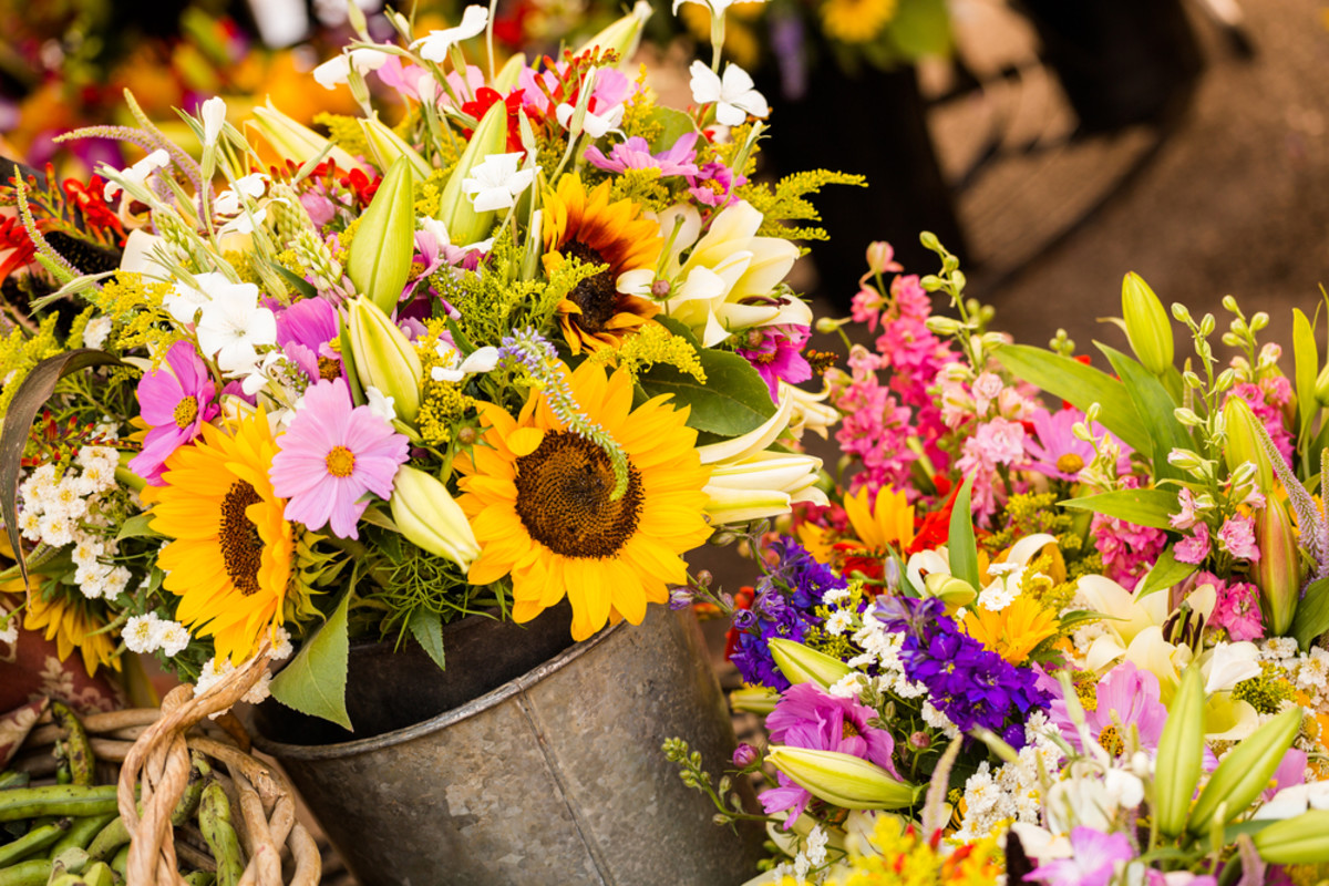 American-grown flowers are popular and that's good for American growers.