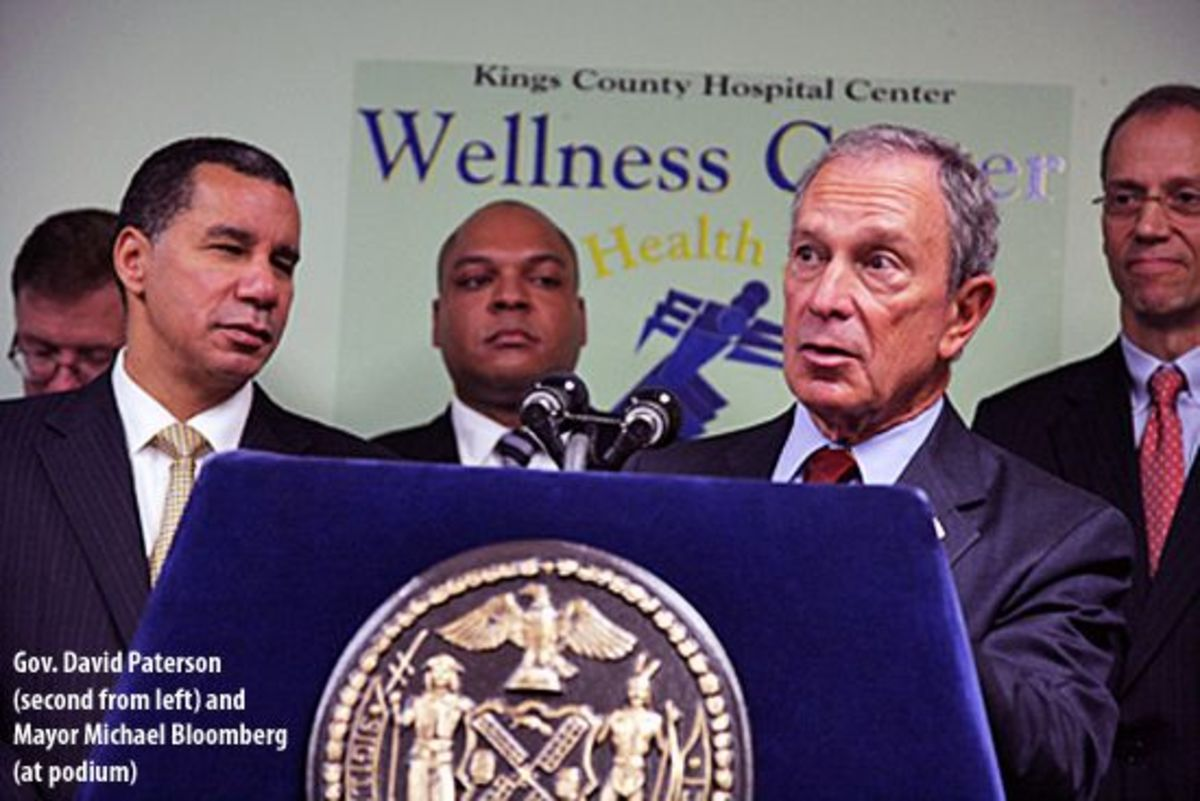 Paterson and Bloomberg