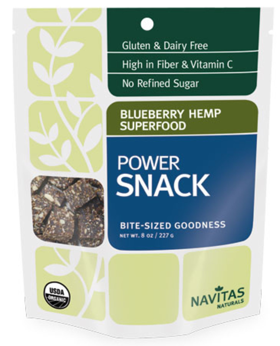 Navitas Snack Blueberry Hemp