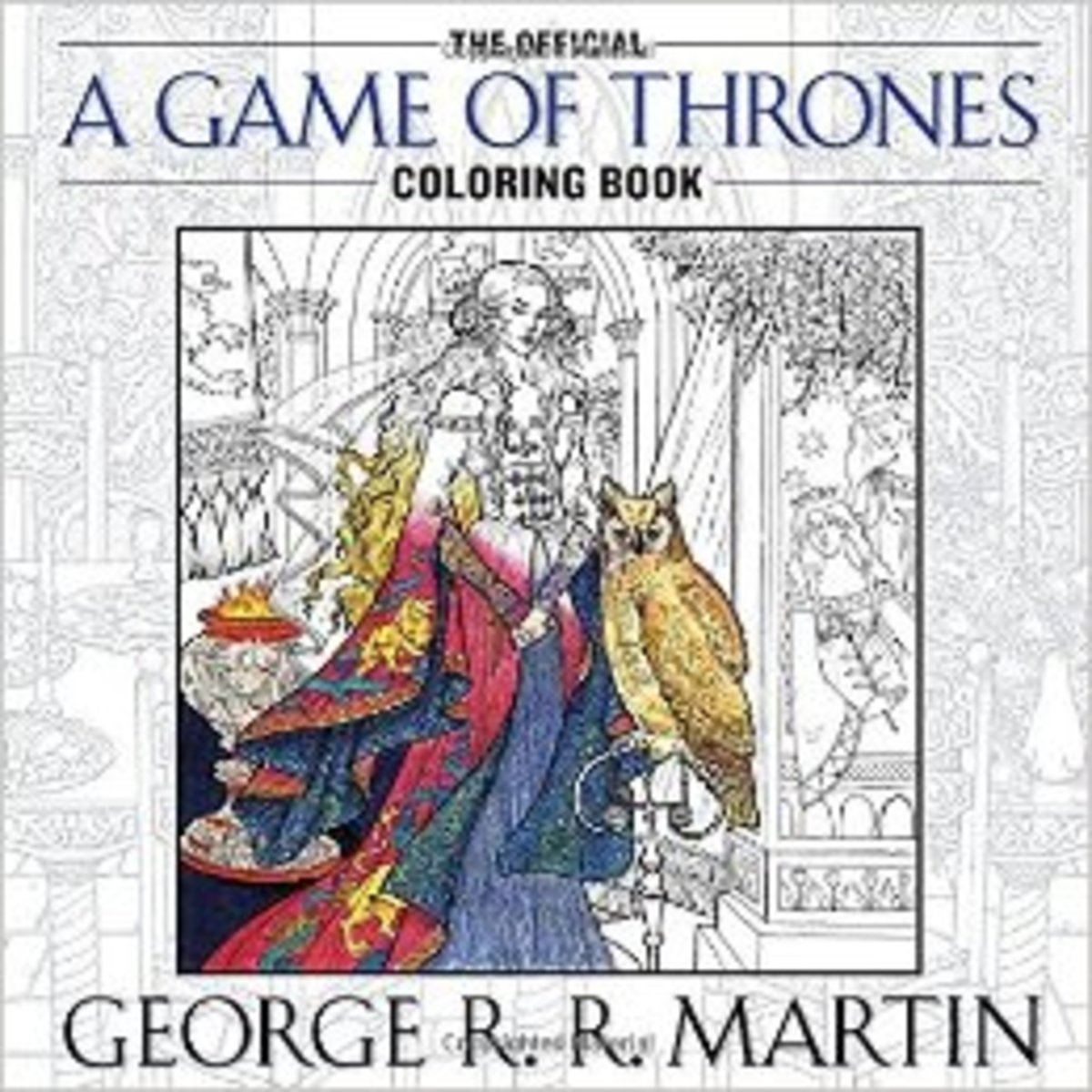 Adult coloring books.