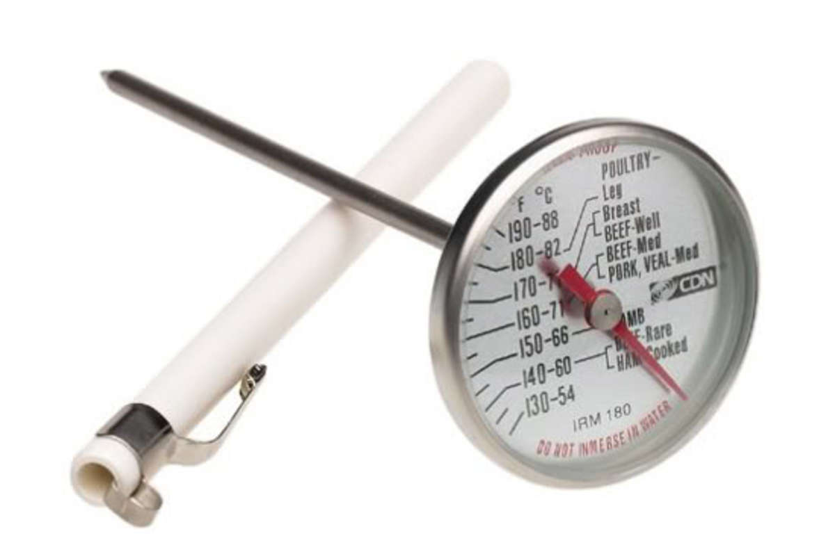 Meat and poultry thermometer