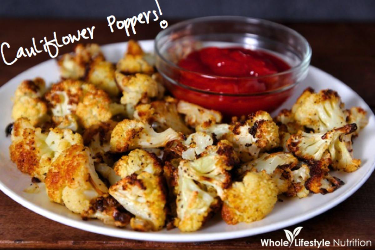 Cauliflower-Poppers super bowl recipes