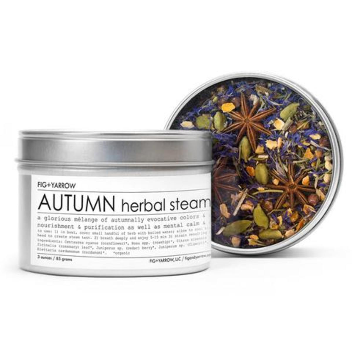 Fig and Yarrow Autumn Herbal Steam