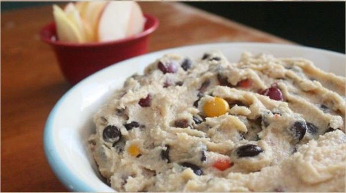 Monster-Cookie-Dough-Dip super bowl recipes