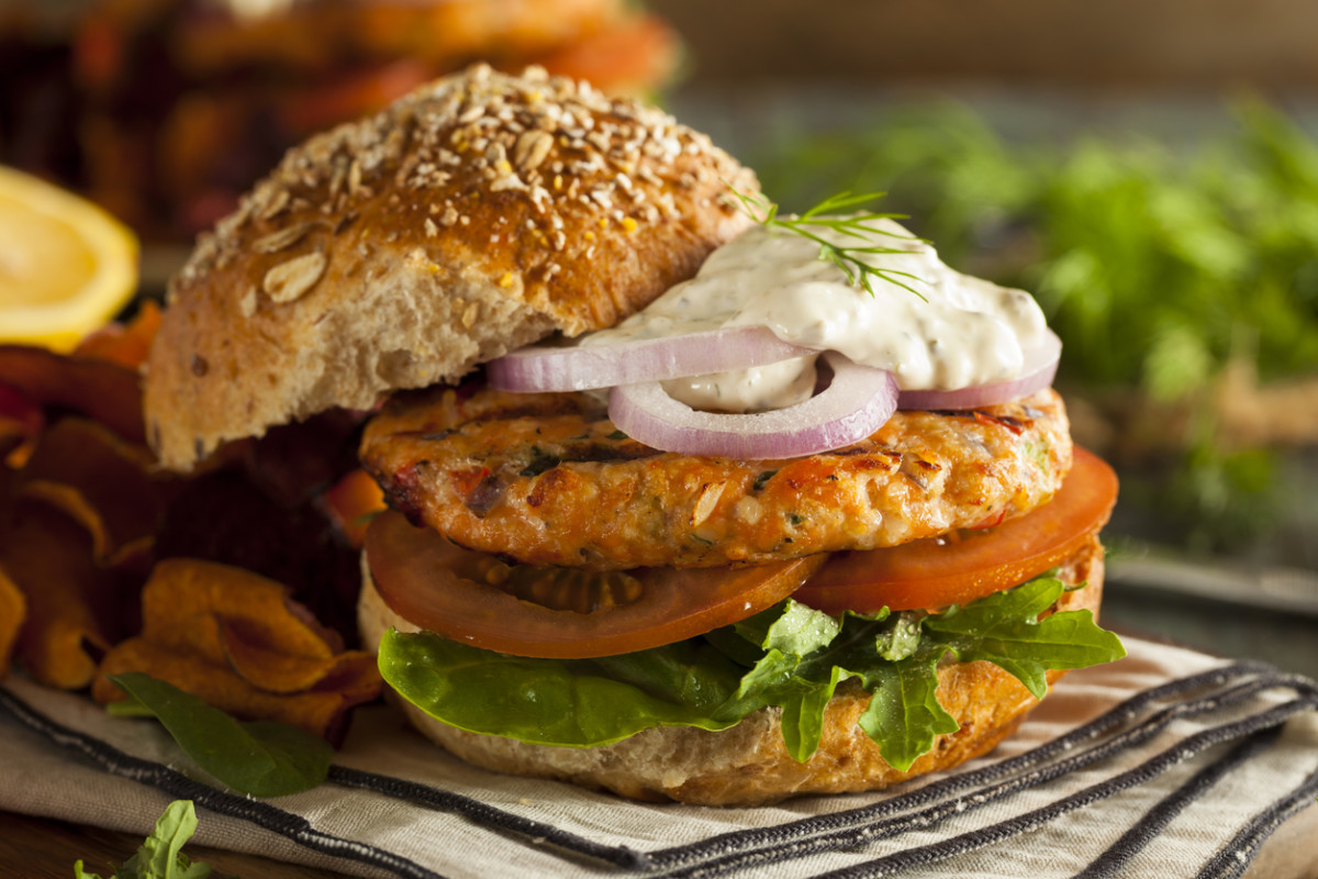 Fungi-Based Salmon Burger Joins the Sustainable Meat Alternative Market