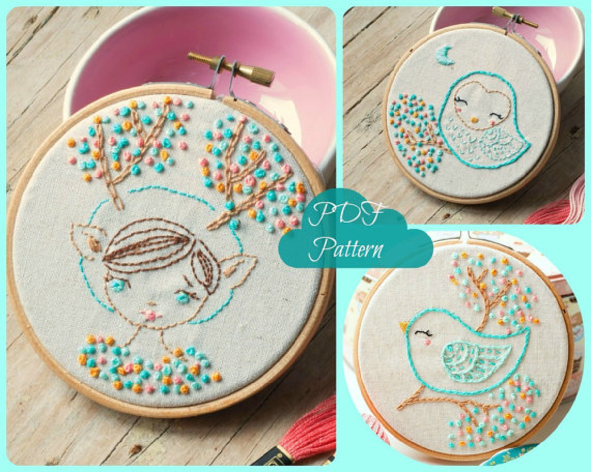 Not your grandma s embroidery patterns a modern twist on