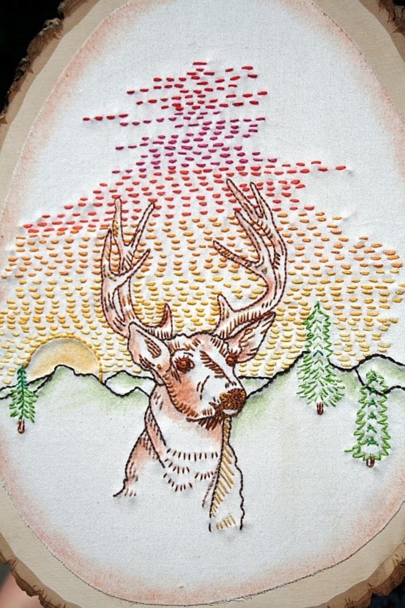 Not Your Grandma S Embroidery Patterns A Modern Twist On An Old