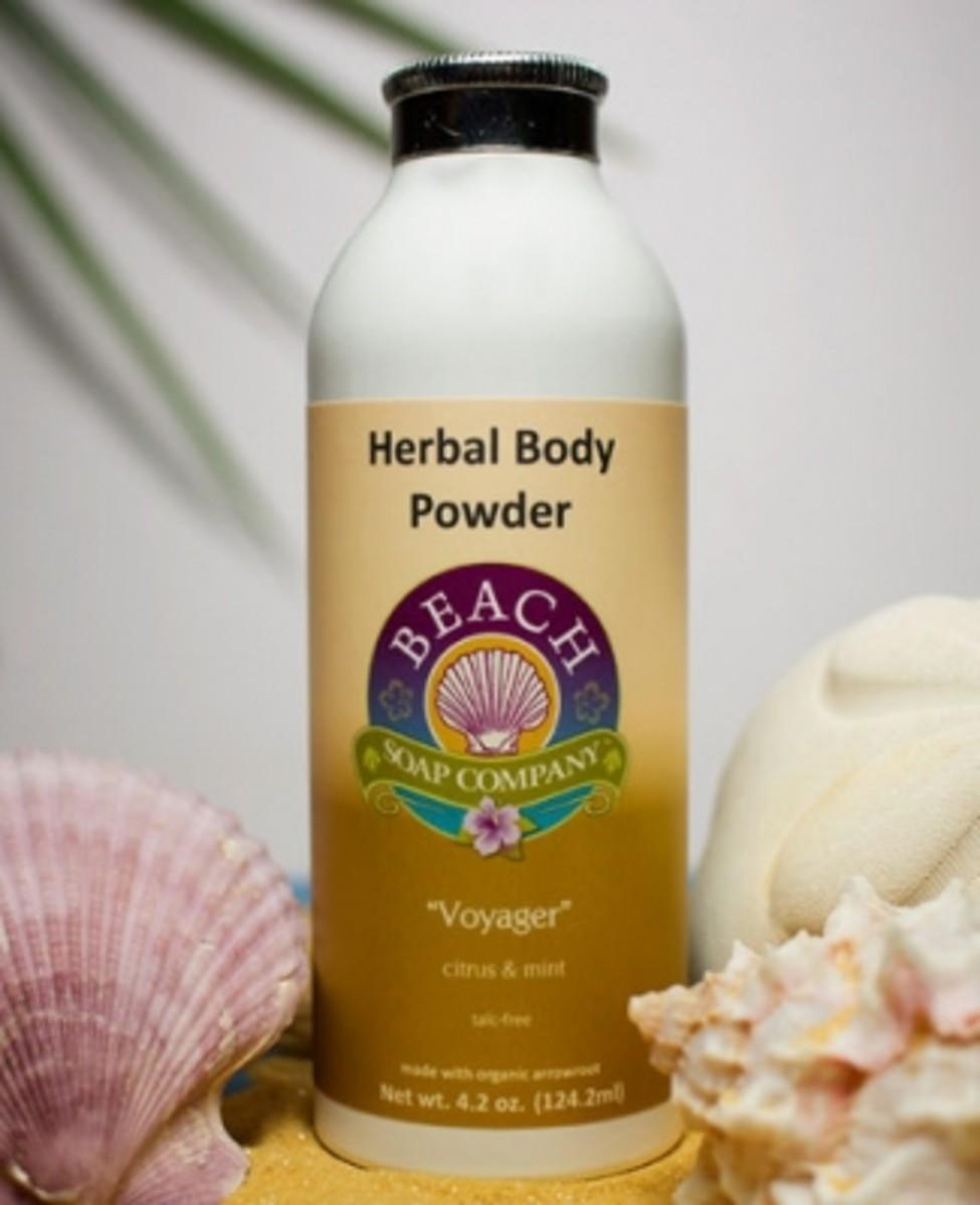 Atlantis Organic Body Powder