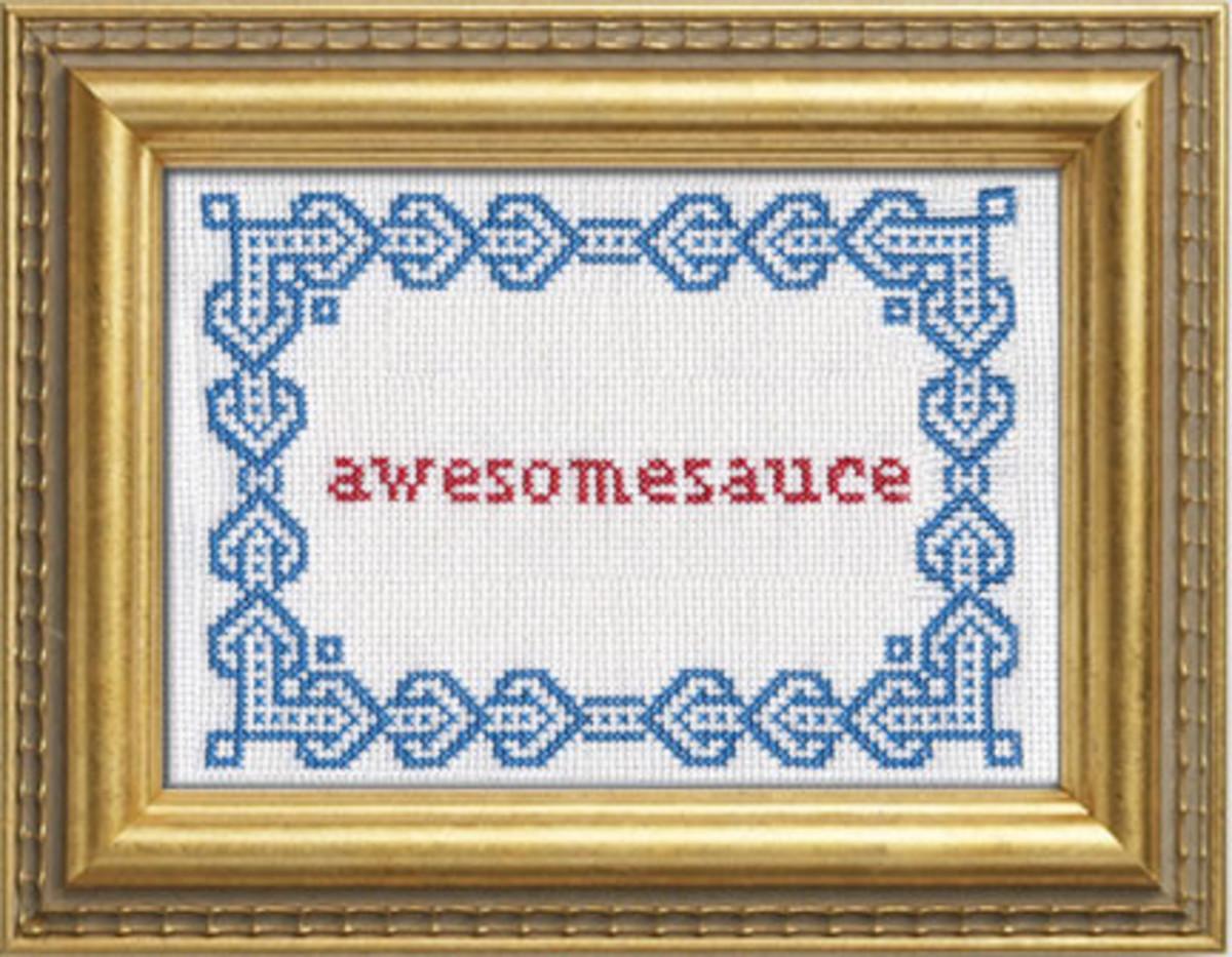Moder sampler embroidery patterns.