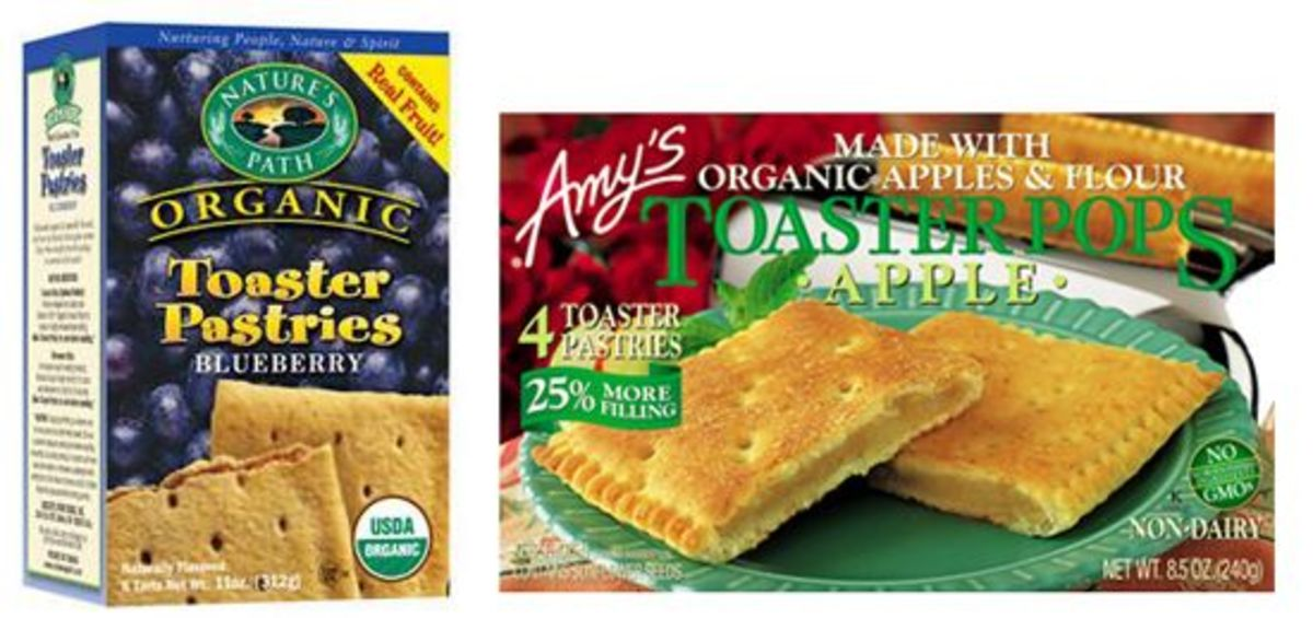 organic toaster pastries