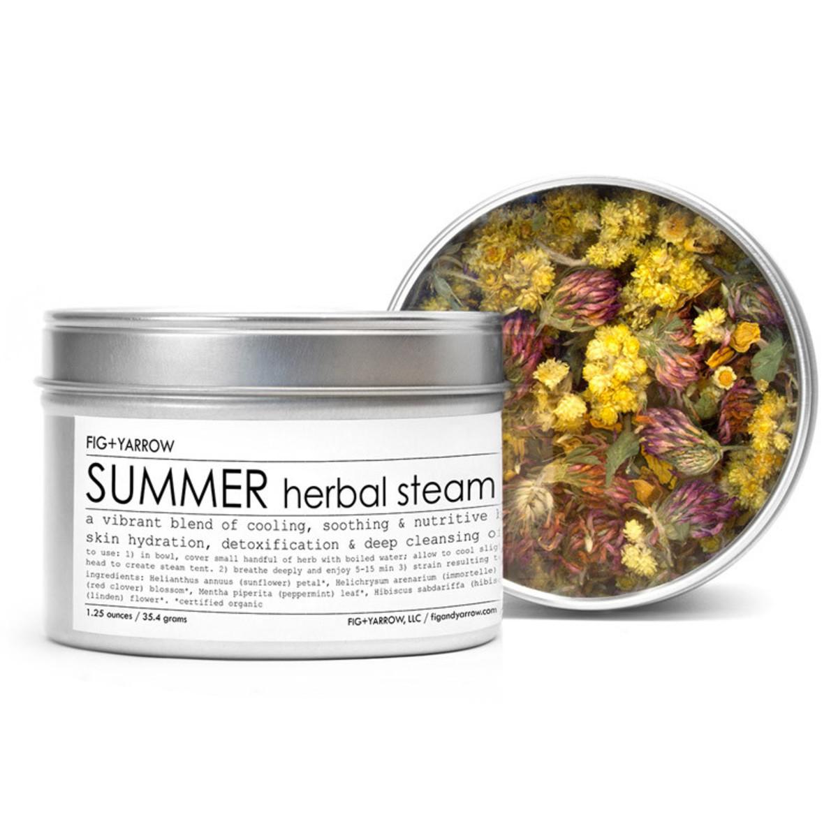 Fig + Yarrow Herbal Steams