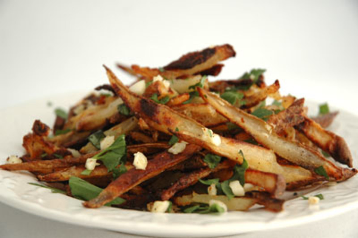 Organic Bistro Garlic Fries