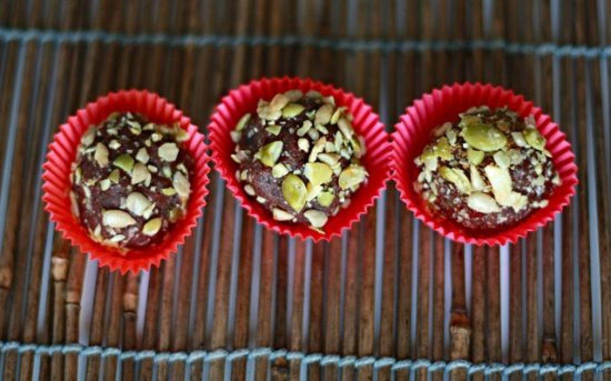 vegan truffles