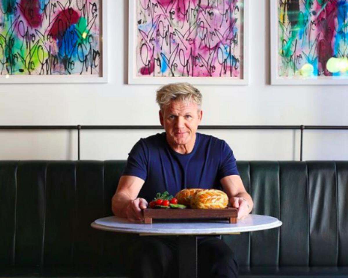 It's True: Gordon Ramsay Participated in a Vegan Cook-Off
