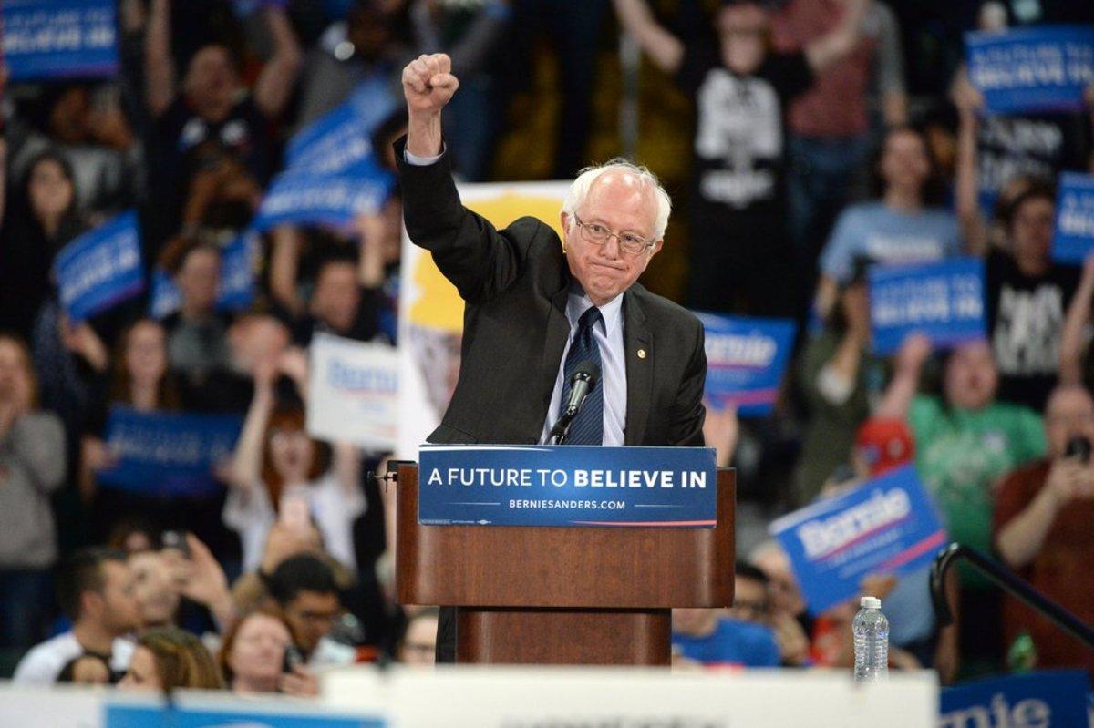 For Vegans 'Feel the Bern' Means Protesting Bernie Sanders Rallies