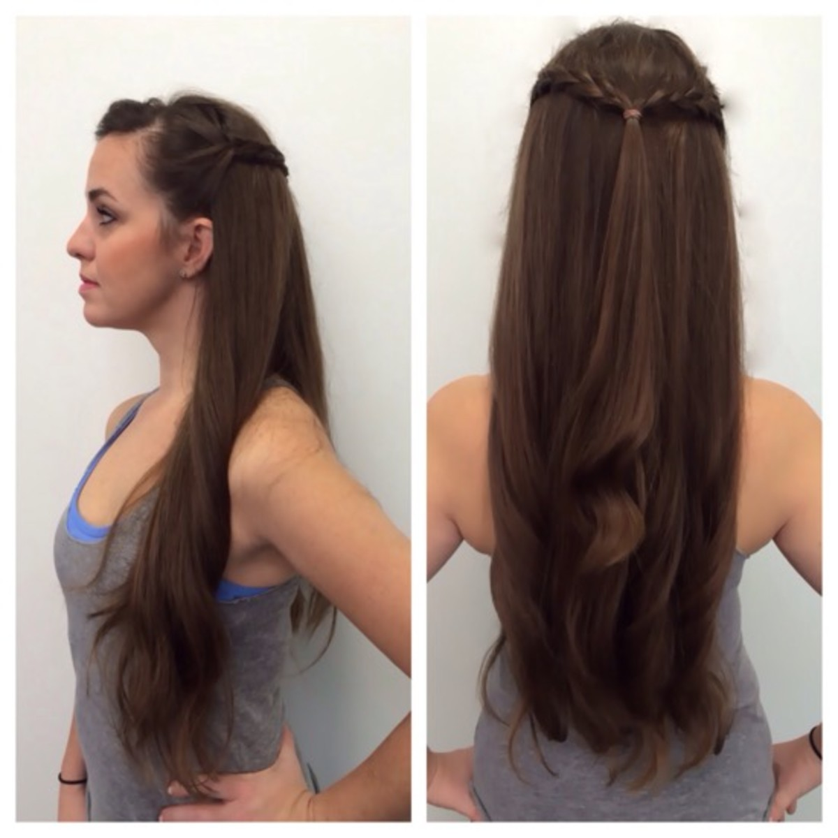 4 Cute Workout Updos For Long Hair: Evict That Ponytail