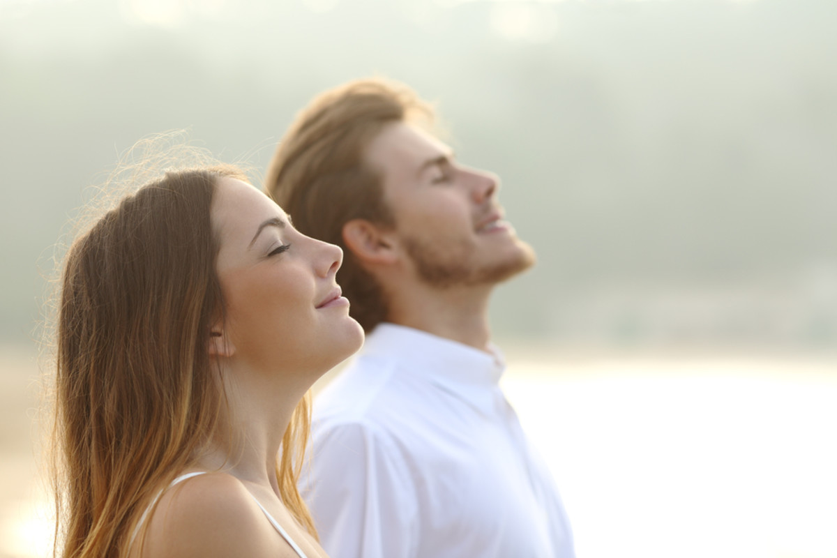 Deep breathing benefits and technique
