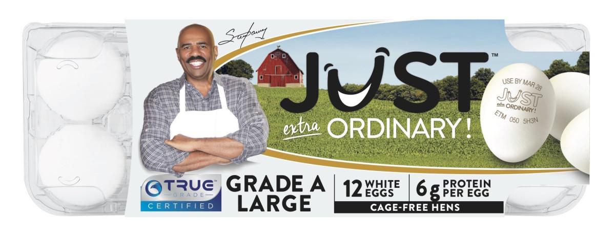 Did Steve Harvey Just Revolutionize Egg Carton Labels?