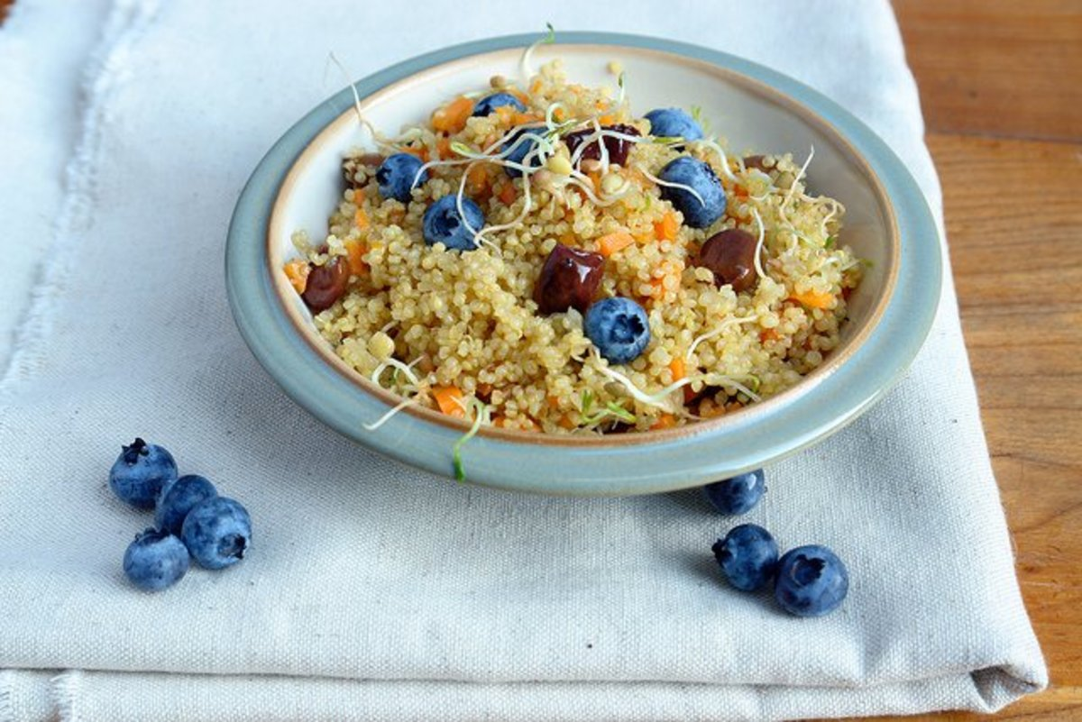 healthy breakfast recipe quinoa bowl