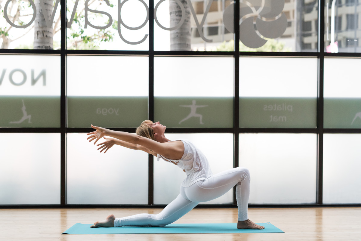 You'll feel at home practicing at YogaWorks.