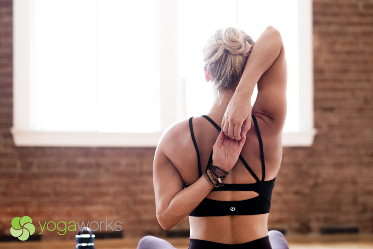 YogaWorks studio is a great place to get fit and centered.