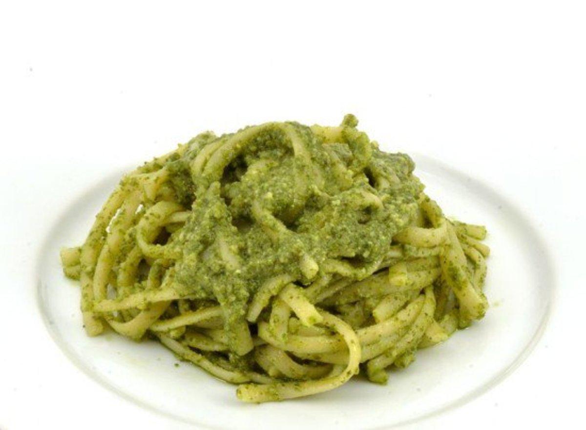 Summer vegan recipes, pasta
