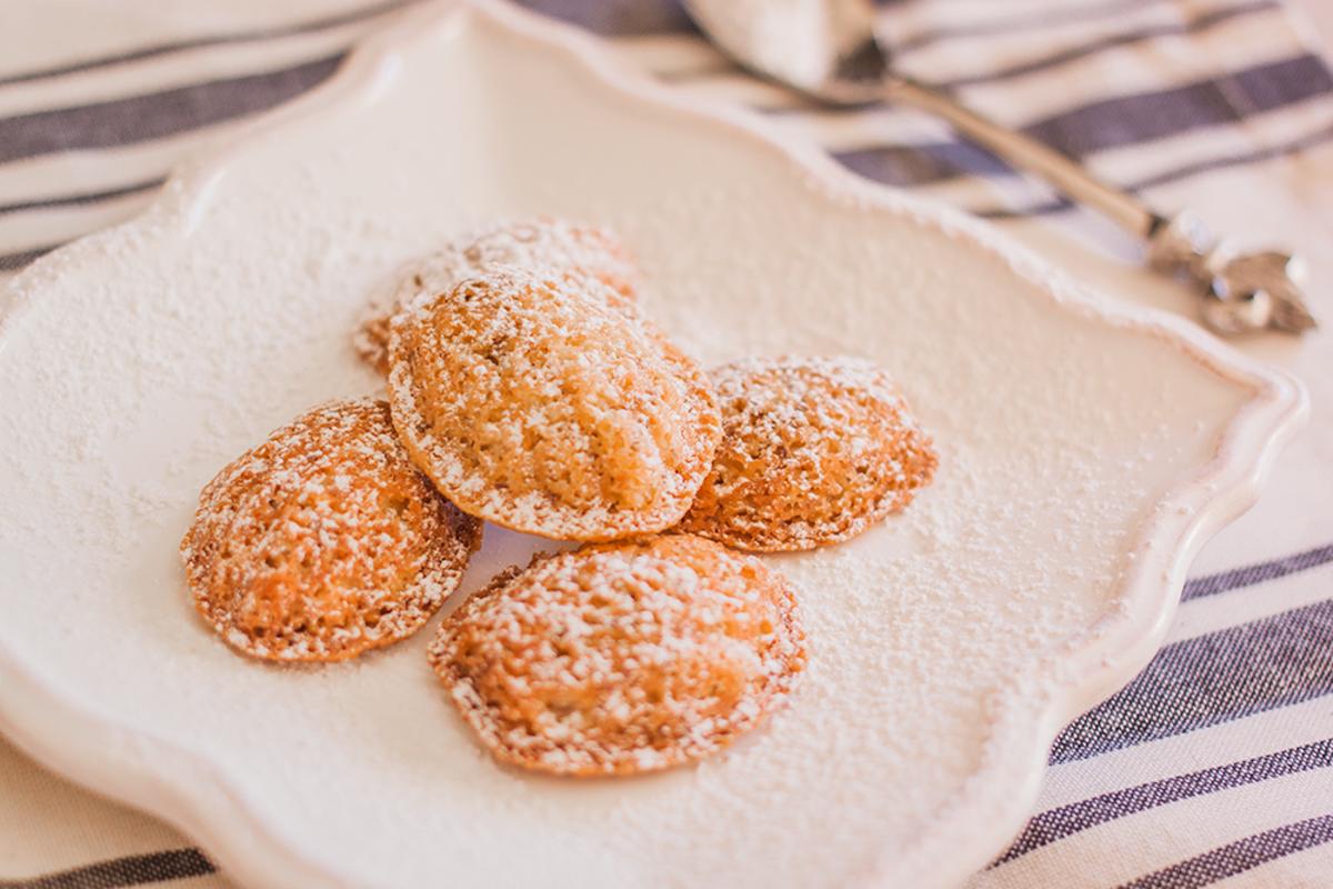Almond Flour Madeleines