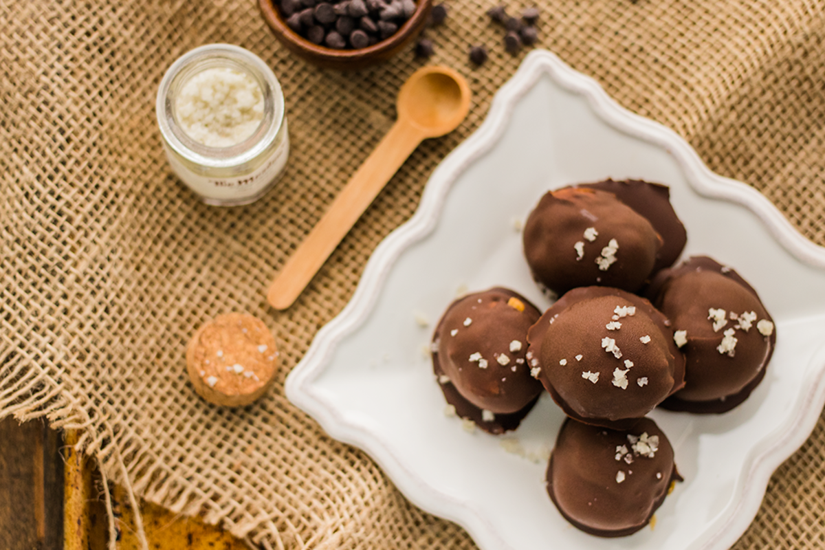 Salted Caramel Chocolate Truffles