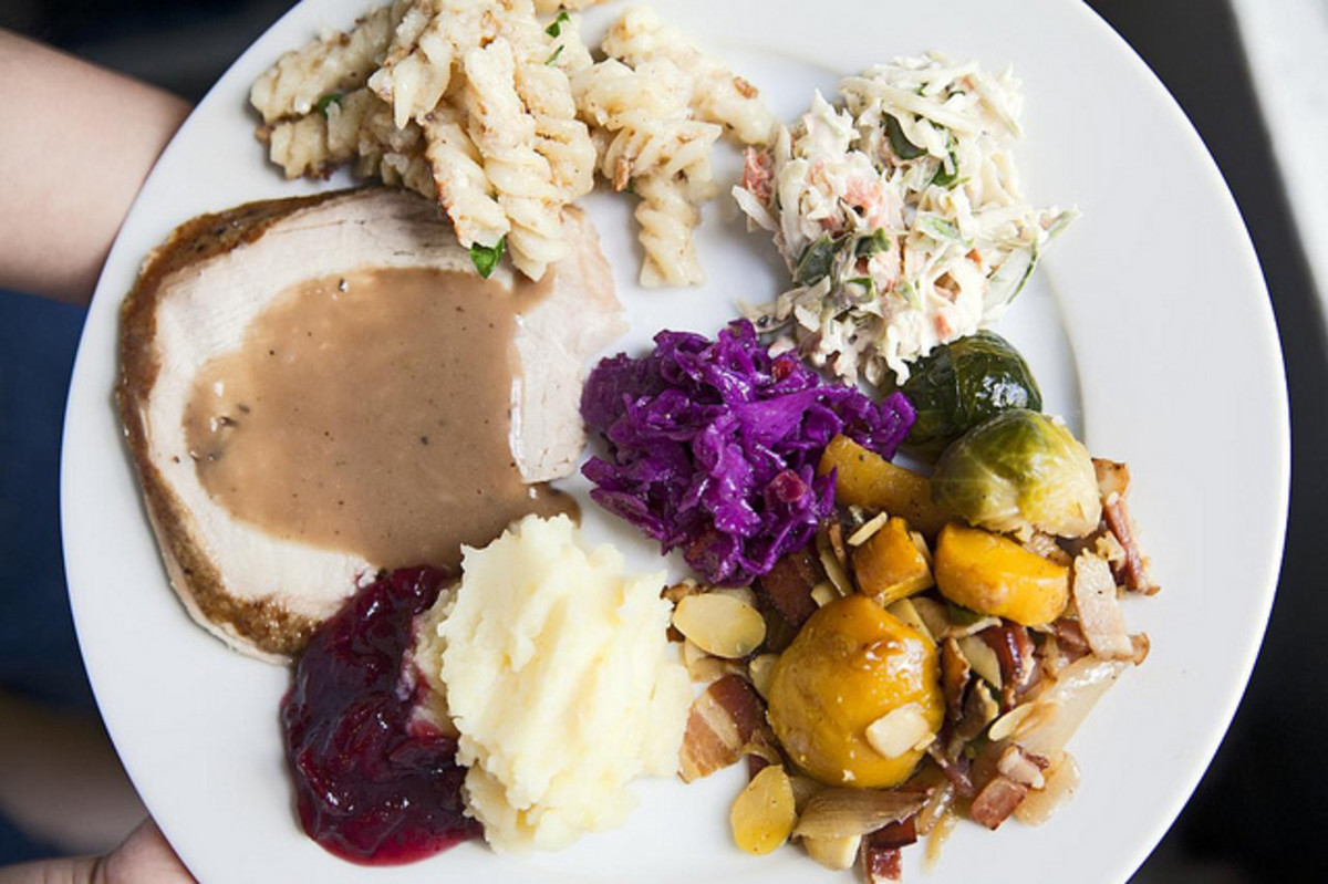 thanksgiving meal leftovers