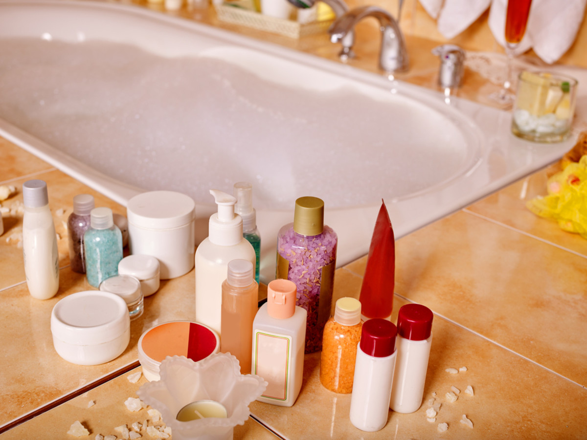 Make your own DIy bath products.