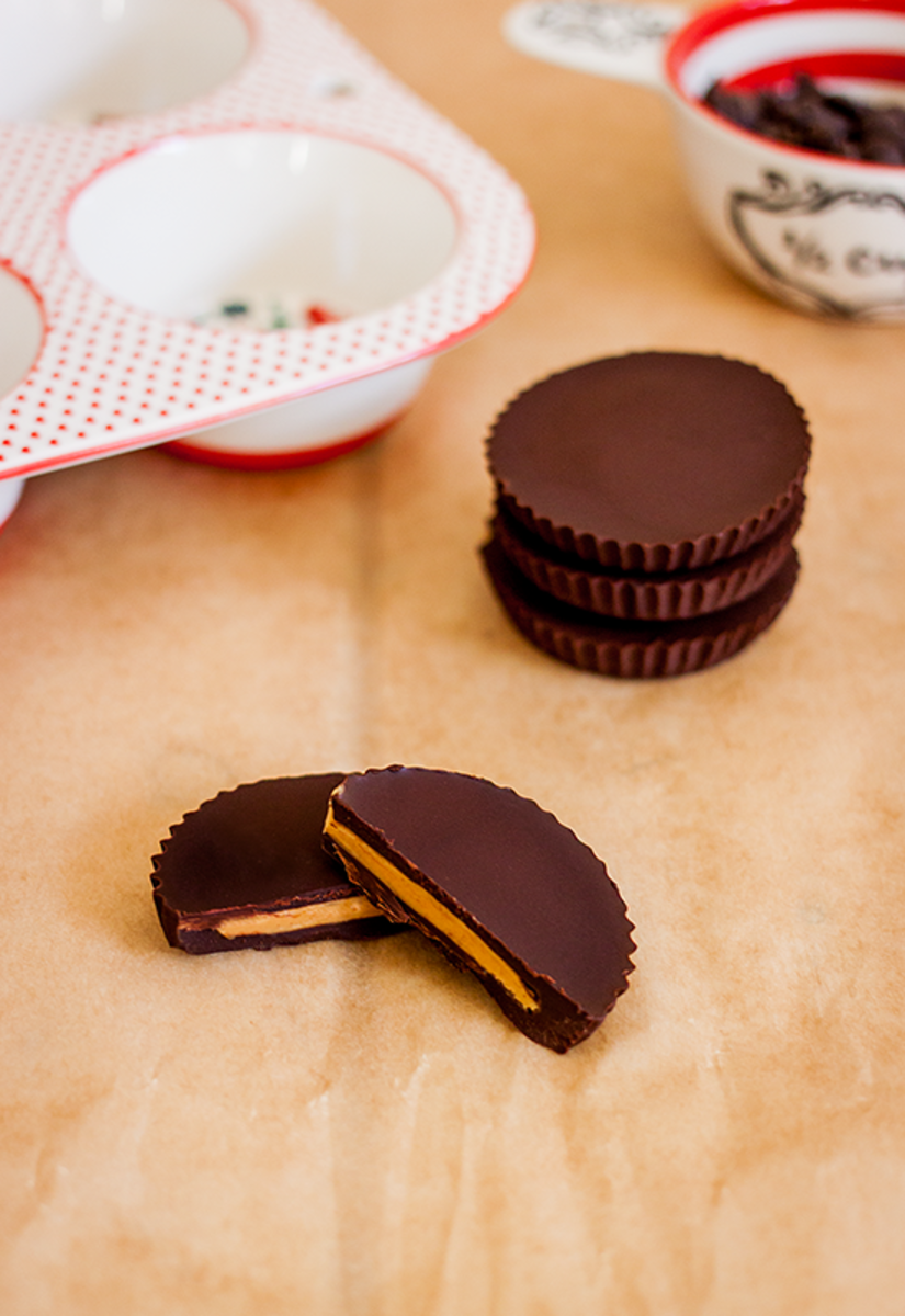 Vegan Reese's Peanut Butter Cups Recipe
