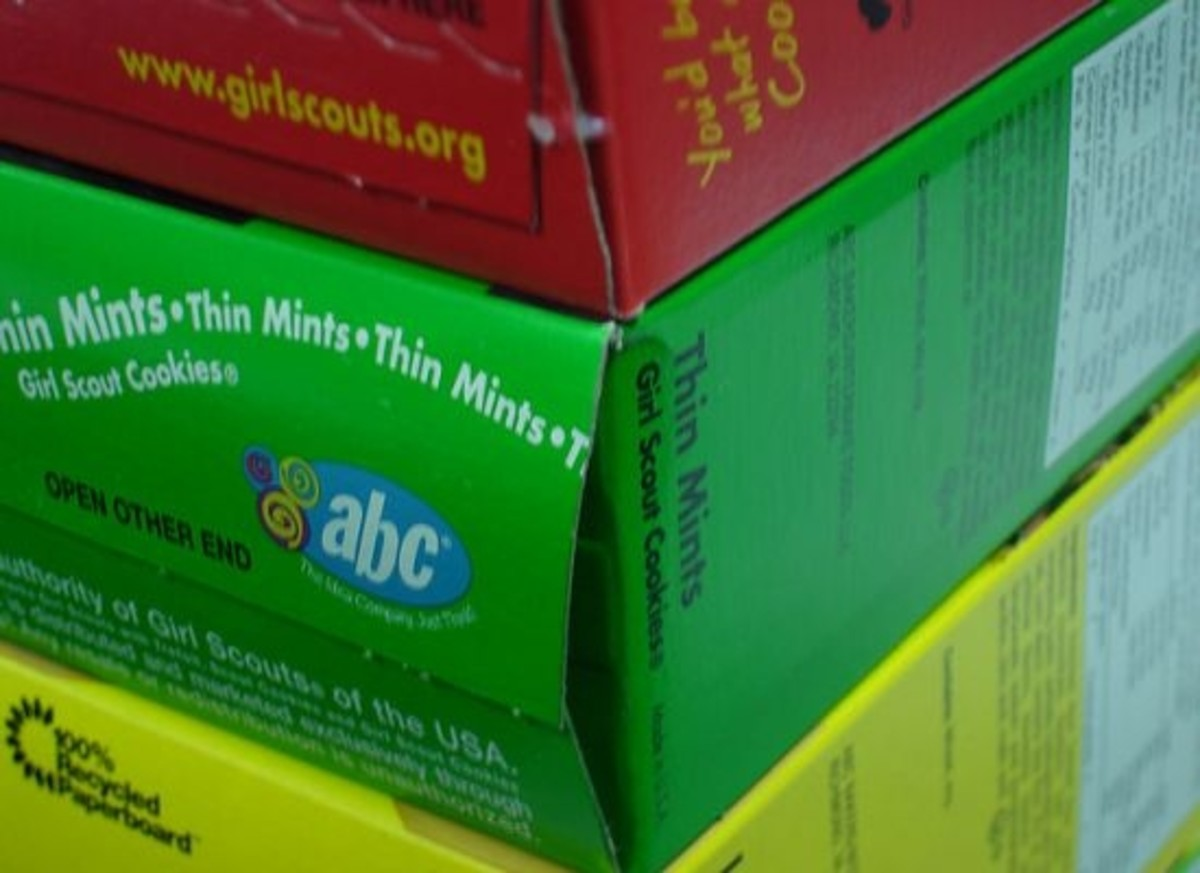 3 out of 5 Girl Scout cookies contain dangerous trans fats