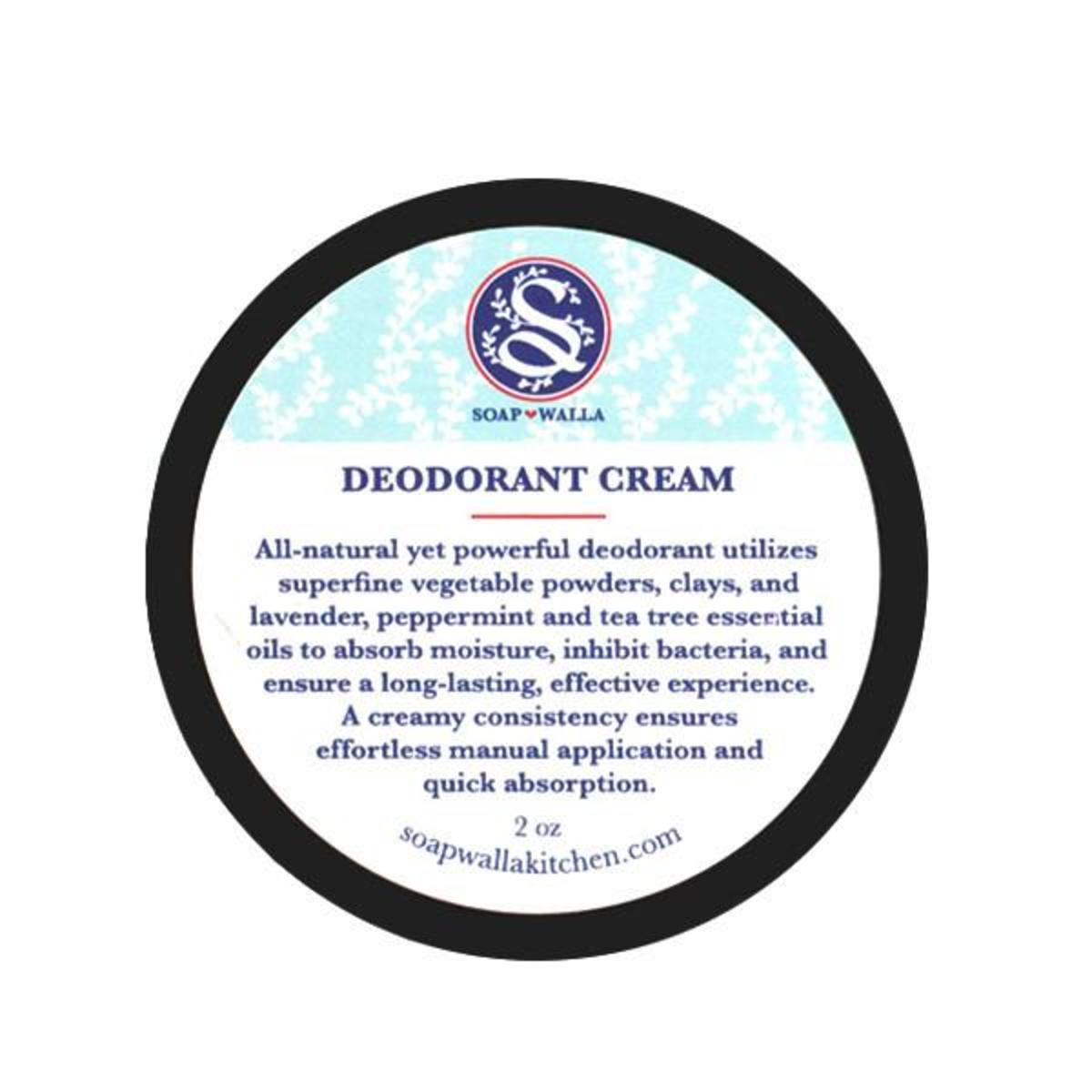 Soapwalla Original Deodorant Cream