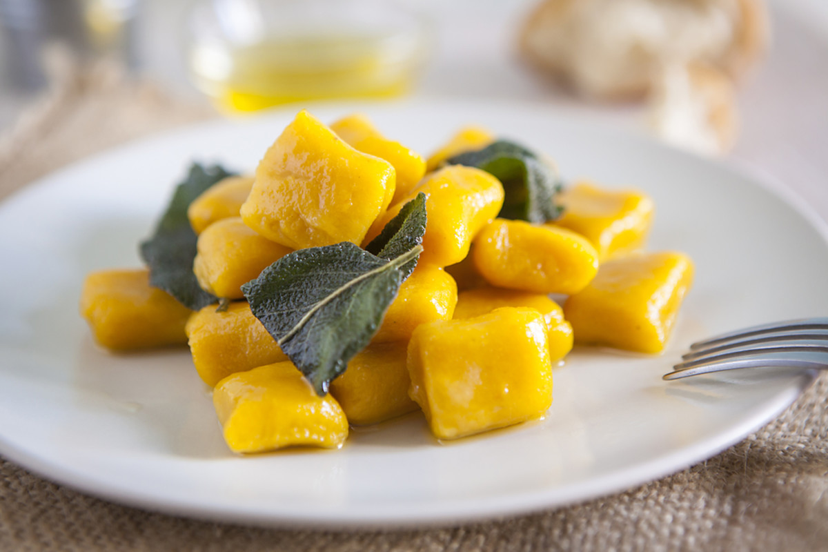 sage and pumpkin gnocchi