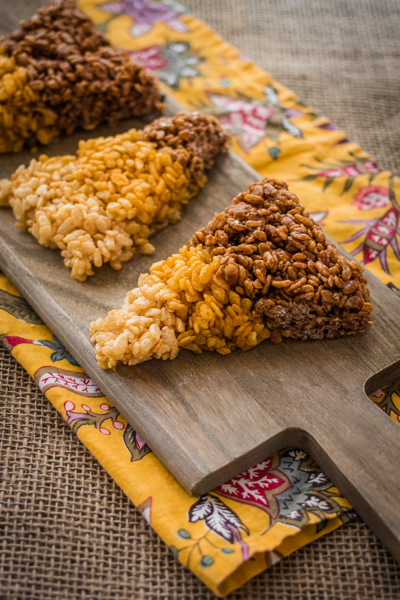 vegan rice crispie treats