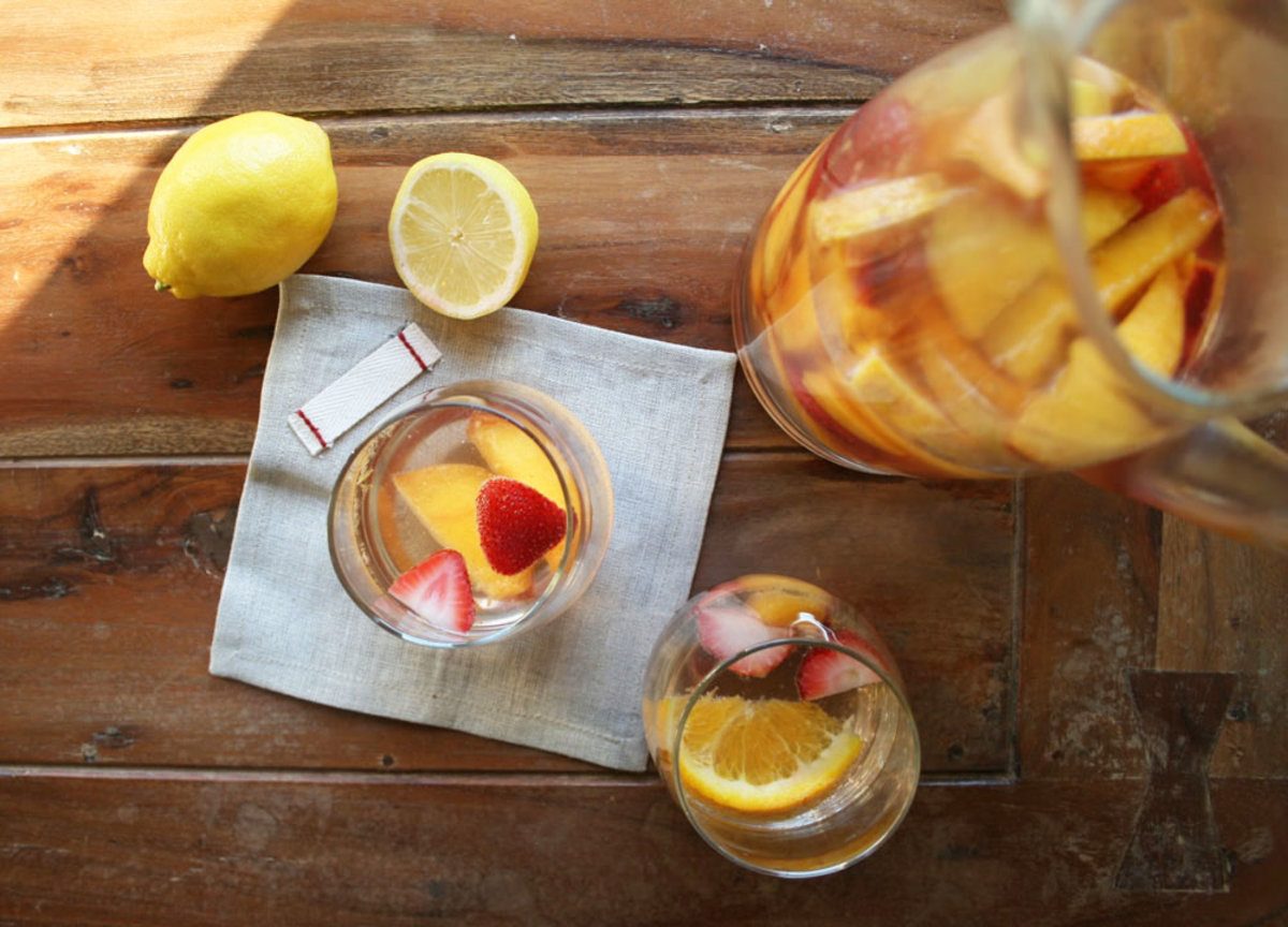 The Healthy Way to Get Your Spritzer On (With Kombucha, of course!)