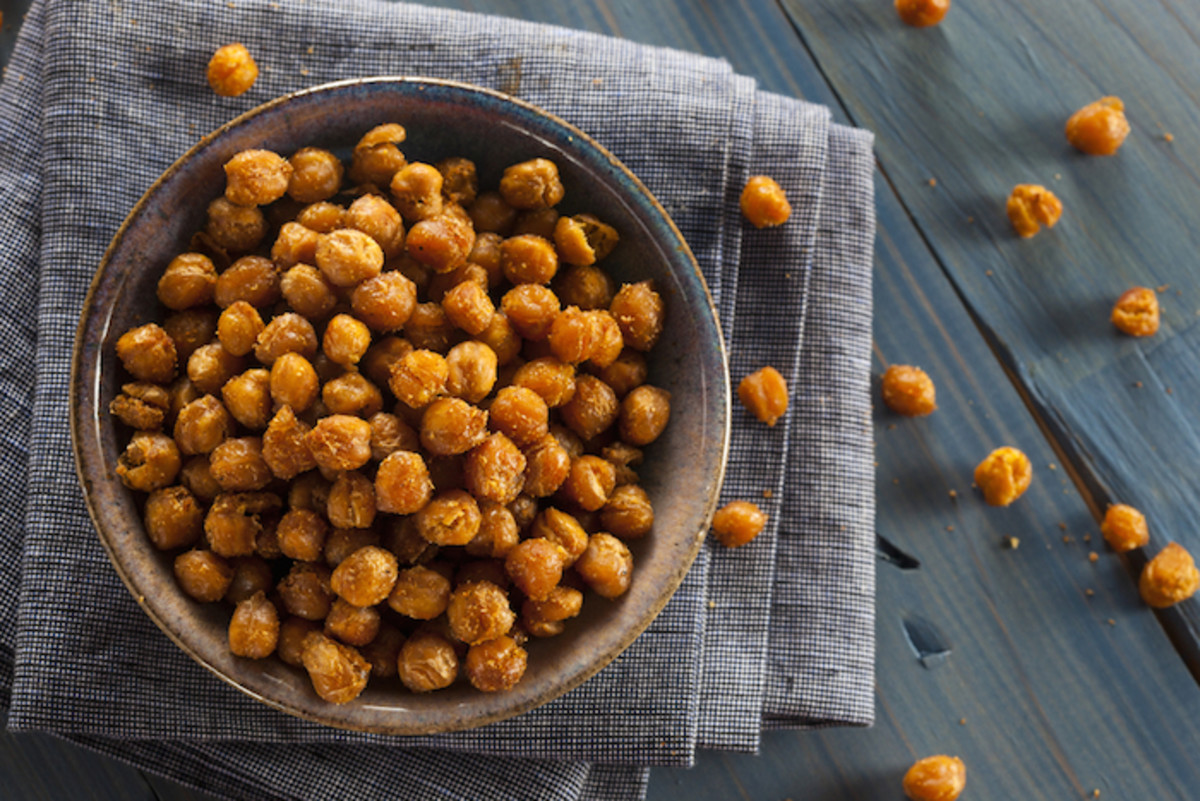 Better Than Hummus: Mouth-Watering Savory and Spicy Roasted Chickpeas Recipe