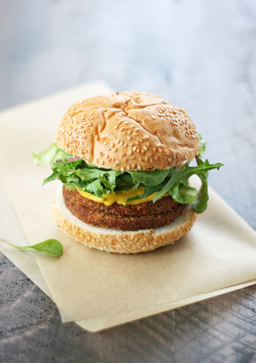 black bean burger recipe