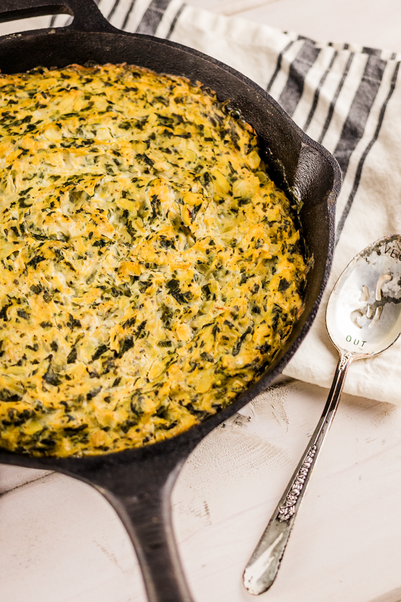 This Vegan Spinach Artichoke Dip Will Blow Your Mind