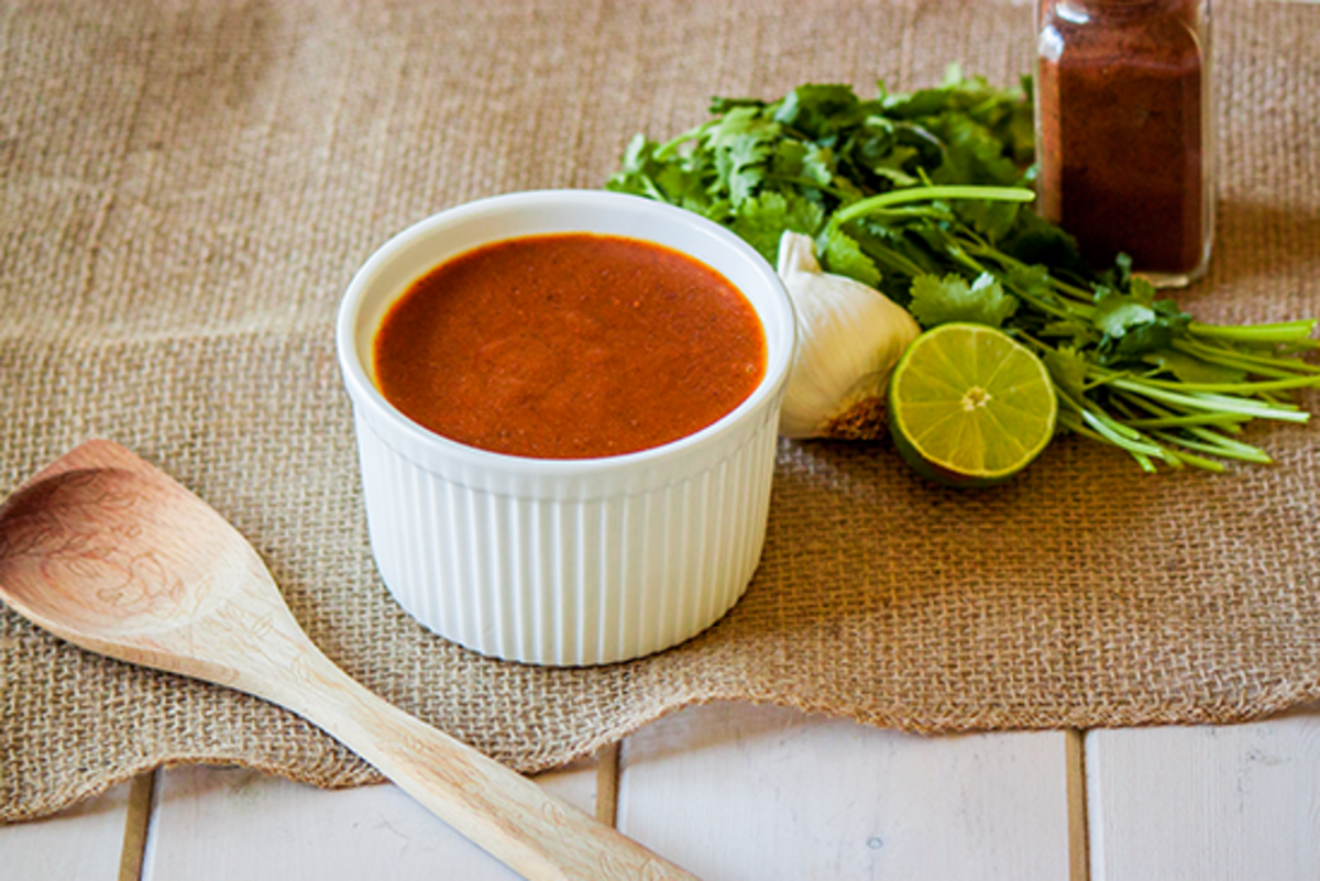 Vegan Enchilada Sauce Recipe: 2 Ways