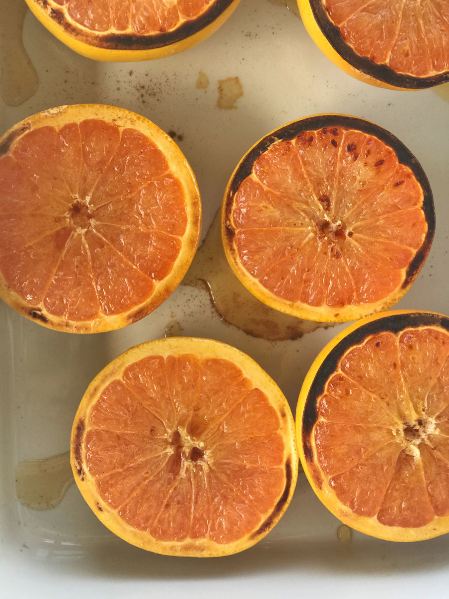 honey broiled grapefruit recipe